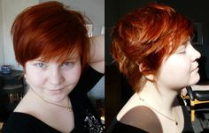 fat girls + short hair = YES! — I spent months in agony of whether or not to cut...