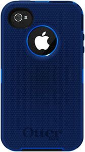 OtterBox Defender Series Hybrid Case  Holster for iPhone 4  4S  - Retail Packaging - Ocean/Night Blue - The OtterBox Defender Series case provides the ultimate protection for your iPhone 4S. Enclose your device in the highest quality, tough