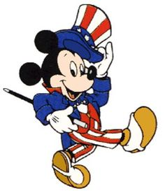 Mickey Mouse Uncle Sam