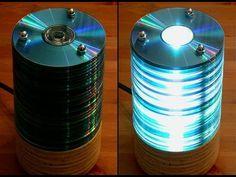 1000 ideas creativas para reciclar cds y dvds I - YouTube