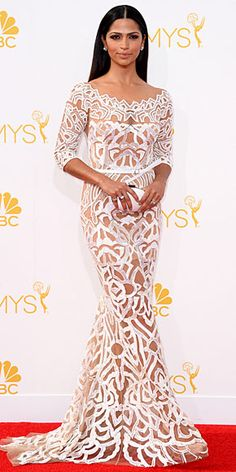 Gorgeous Emmy dress. Camila Alves