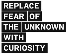 replace the fear!