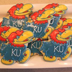 jayhawk cookies. Now to figure out who made them!