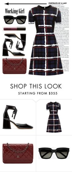 """Working Girl.... Portrait of a Lady"" by conch-lady ❤ liked on Polyvore featuring Marc Jacobs, Marc by Marc Jacobs, Chanel, Yves Saint Laurent and LORAC"