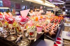 Sweet table - Valentine's day buffet - Riu Palace Mexico - Playa del Carmen - Mexico