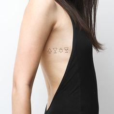 Alchemy words temporary tattoos http://tattify.com/product/alchemy/