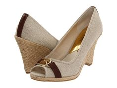 MICHAEL Michael Kors Meg Open Toe Natural - Zappos.com Free Shipping BOTH Ways