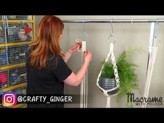 DIY Macrame Tutorial: Macrame Plant Hanger for Beginners #2 of 4