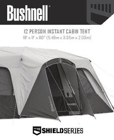 Bushnell Shield Series 12 Person 3 Room Instant Cabin Tent  sc 1 st  Pinterest & Northwest Territory Blue Ridge Instant Tent 10 Person | Tents ...