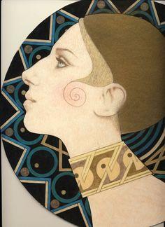 Deco Barbra by Richard Laeton~an amazing artist!
