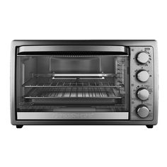 9-Slice Silver Toaster Oven