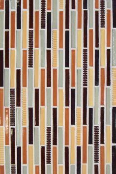 Mercury Mosaics | Stix - Coriander Blend / Texture - Stripe