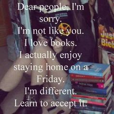 I love books on a Friday night ❤️