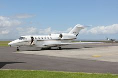 Fastest Private Jet in the World: CESSNA CITATION X parked