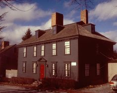 The Cotton House (ca. 1720) was probably a small single-chimney house originally, but was enlarged in the mid-18th century in the Georgian style, a common occurrence in Newport, RI at that time. When it was restored in 1979-80, it maintained a significant percentage of its original fabric on both the interior and exterior.