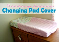 KdBuggie Boutique: Nesting Series: Changing Pad Cover Tutorial