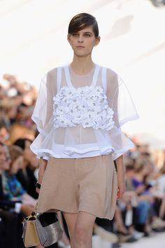 Chloe: Runway - Paris Fashion Week Womenswear Spring / Summer 2013