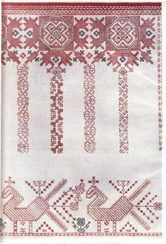 Russian Embroidery, Russian Fashion, Russian Style, Russia Ukraine, Russian Culture, Star Patterns, Cross Stitch Designs, Needlework, Old Things