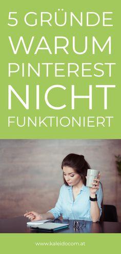 Pinterest bringt Dir einfach keinen Erfolg? Darum funktioniert Pinterest nicht bei Dir - 5 Gründe #PinterestTipps Marketing Trends, E-mail Marketing, Online Marketing, Social Media Marketing, Content Marketing, Pinterest Profile, Pinterest Blog, Competitor Analysis, Pinterest For Business