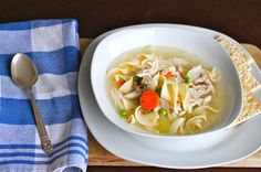 Recipe: Hearty Chicken and Vegetable Soup via The Corner Kitchen.