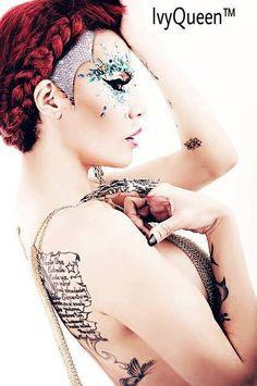 Ivy Queen, mon modèle de femme battante et féminine avec un talent et une écriture bluffante.