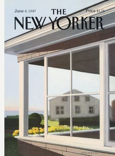 The New Yorker - Monday, June 8, 1987 - Issue # 3251 - Vol. 63 - N° 16 - Cover by : Gretchen Dow Simpson