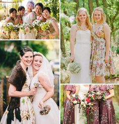 One Fab Day Bridesmaids in Print
