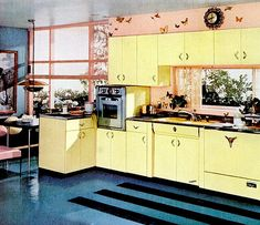 Kitchen (1955) | Flickr - Photo Sharing! Mid century modern