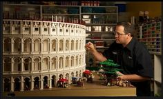 World's First Lego Colosseum Made of 200,000 Bricks - My Modern Metropolis