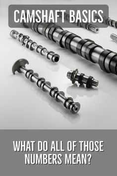 Looking at buying a camshaft or just curious what all of those numbers mean? We have the answers to explain lift, duration, lobe separation angle and more. Ls Engine, Engine Repair, Engine Rebuild, Car Repair, Vehicle Repair, Auto Engine, Engine Block, Man Cave Garage, Garage Bar