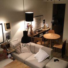 ポスター/男前/プルーヴェ/IKEA/照明/無印良品…などのインテリア実例 - 2015-11-21 00:36:02 | RoomClip(ルームクリップ)