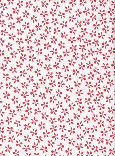 White Fabric Red Flowers Fabric Aqua Dots Fabric White Floral Fabric Cotton Quilting Fabric Fat Quarters and BTY, Craft Supplies YacketUSA