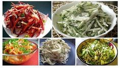 Салат для похудения «щетка» - другие варианты   - Натереть на крупной терке те же самые овощи, только взять капусты в два раза больше, чем других ингредиентов. Овощи перемешать и помять руками, чтобы выделился сок. В готовый салат, заправленный подсолнечным маслом и лимонным соком, добавить мелко нарезанный чернослив.   - Нарезаем соломкой три морковки, свеклу и лук, добавляем мелкие кубики твердого яблока и несколько сухофруктов - курага, чернослив. Добавить ягоды клюквы или зерна граната…