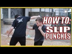How to Slip a Punch in a Fight - YouTube