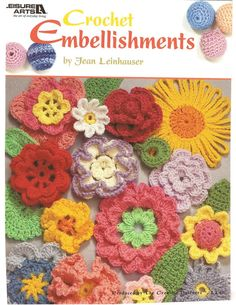 CROCHET - Leisure Arts - Jean Leinhauser - Crochet Embellishments - Maria M Castells - Picasa Web Albums