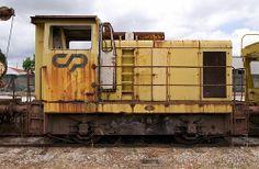 CP (Comboios de Portugal) Series 1000 Diesel Shunter, Entroncamento, Portugal