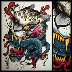 Artwork: David Tevenal - Tattooer
