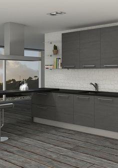 El color gris puede transformar por completo un espacio consiguiendo un ambiente elegante que combinado con el blanco y el negro, crean un estilo muy minimalista.