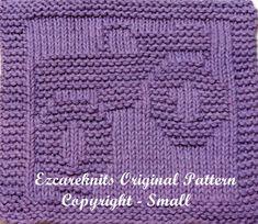 Knitting Cloth Pattern  MONSTER TRUCK 2  PDF by ezcareknits