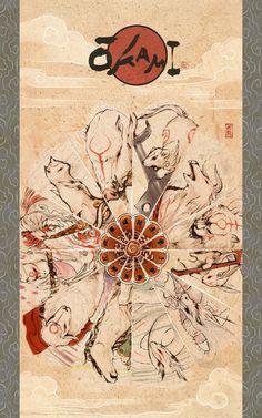 Okami: The Gods by *zeldacw on deviantART