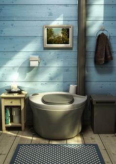 - Great atmosphere at Finnish puucee (outhouse). Garden Gym Ideas, Outdoor Toilet, Summer Cabins, Outdoor Bathrooms, Composting Toilet, Laundry Room Design, Cozy Cabin, Minimalist Living, Country Chic
