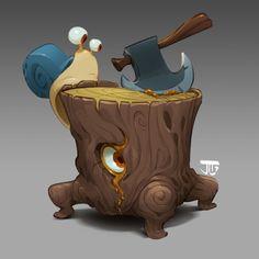 1 hour maplestory cool-down painting from last. Prop Design, Game Design, Character Concept, Character Art, Modelos 3d, Fanart, Environment Concept Art, Arte Pop, Fantasy Inspiration