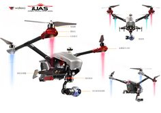 A look ahead to one of the highlights of the tech year – the Consumer Electronics Show (CES) in Las Vegas, which kicks off next week. We have been working this design for a while. A peek at our new quadcopter at the CES 2015, Las Vegas, USA.