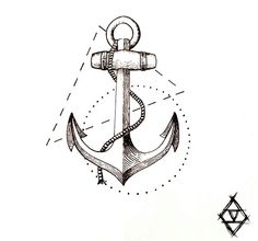 Designed by me. #sezencakici #tattooartist #tattooer #tattoo #anchor #anchortattoo #geometric #linework #lineworktattoo #dotworktattoo #geometrictattoo #tattoodesign #tattoo