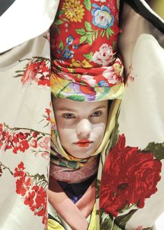 Kenzo S/S 2011..kinda reminds me of the mad hatter