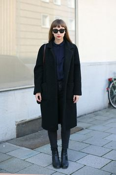 Ganni Coat, Cos Shirt