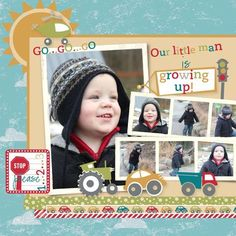 using the new On The Go Stampin' Up! digital kit // by Heather Summers