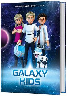 """Mit diesem bunten intergalaktischen Mitmachbuch erleben Kinder die spannenden Abenteuergeschichten der """"Galaxy Kids"""" interaktiv! Die Geschichten der Hörspiele werden durch Comicseiten und bebilderte Geschichten um viele Informationen und Spannungselemente erweitert. Dazu gibt es Texte im Chatformat, Steckbriefe und vielerlei Rätsel. Auch wissensdurstige Kinder kommen voll auf ihre Kosten! Samurai, Comic, Disney Characters, Fictional Characters, Leo, Disney Princess, Movies, Kids, Movie Posters"""
