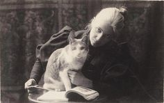 Thomas Eakins 1880s Amelia Van Buren with a Cat