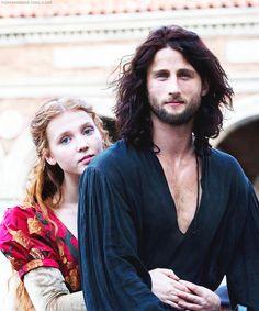 Mark and Isolda as Cesare and Lucrezia, from season 3 of Borgia: Faith and Fear